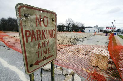Furniture Store To Break Ground On Long Vacant Lot In Towson Area