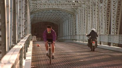 """The Warren Road Bridge over Loch Raven Reservoir, as shown in January 1998. The century-old structure is """"nearing the end of its useful life,"""" officials said this month."""