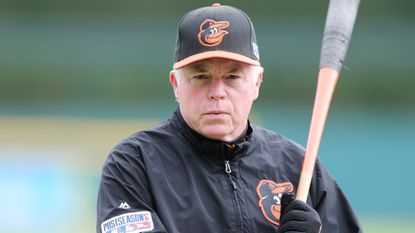 Orioles manager Buck Showalter.