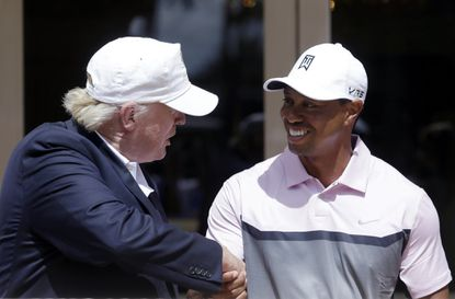 Trump tweets he will give Tiger Woods the Presidential Medal of Freedom