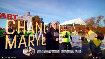 Gov. Larry Hogan released his first campaign ad for the 2018 election this week.