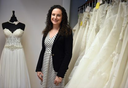 Bridget Moore opened K&B Bridals, voted best bridal shop, on Main Street in Bel Air six years ago.