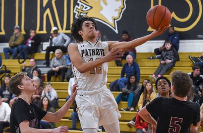John Carroll guard Tyson Commander averaged 18 points per game a season ago as a sophomore. Commander is back for the Patriots in this shortened season.