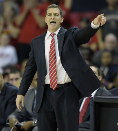In his first game as Maryland's coach, Mark Turgeon guided the Terps to an 89-84 win over Northwood.