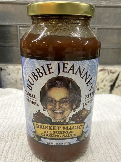 Jeanne Schlossberg, who created Bubbie Jeanne's Brisket Magic All Purpose Cooking Sauce in the kitchen of her Northwest Baltimore home, died Jan. 20 from complications from Alzheimers disease.