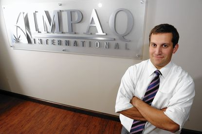 Impaq President Avi Benus said the rapidly growing research firm leverages its location in downtown Columbia as a selling point to prospective employees.