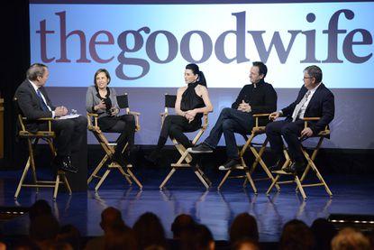 'The Good Wife' creators and stars discuss shocking twist, show's future