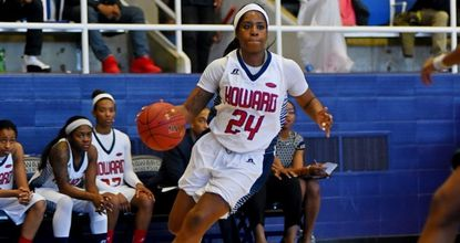 Laurel resident Imani Bailey is averaging nearly 17 points per game in her senior season at Howard University.