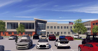 Old Mill West Rendering