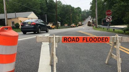 Baltimore County officials to discuss future of flood-damaged Catonsville roads