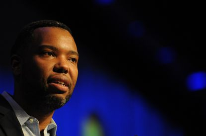 Ta-Nehisi Coates, a provocative African-American leader, speaks at the Martin Luther King convocation at Loyola University.