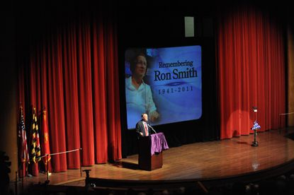 Friends, family, community offer touching farewell to WBAL's Ron Smith