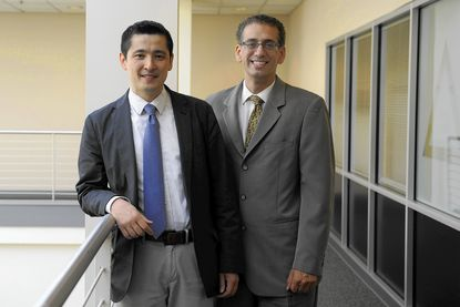 Doctors Kunihiro Matsushita, left, and Josef Coresh, of Johns Hopkins Bloomberg School of Public Health, have written about the relationship between kidney and heart problems.