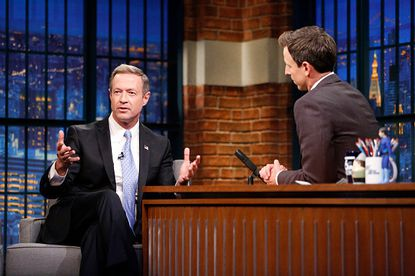 "Martin O'Malley on NBC's  ""Late Show with Seth Meyers."""
