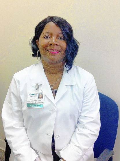 Amy Boulware is director of nursing for North Oaks, a senior living facility in Pikesville.