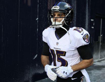 Ravens wide receiver Michael Campanaro finished last season as Jacoby Jones' backup at kick returner.