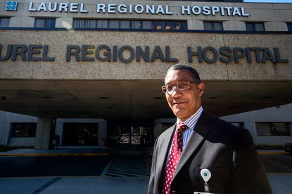John Spearman is president and chief operating officer of Laurel Regional Hospital, which is kicking off plans to expand with a women's health center.