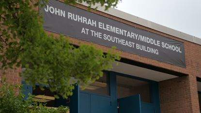John Ruhrah Elementary/Middle School in the Graceland Park neighborhood of East Baltimore.
