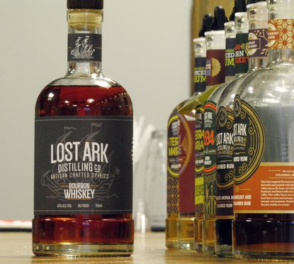 Lost Ark Distilling Company in Columbia is releasing 278 bottles of their locally source bourbon on Dec. 14, 2019.