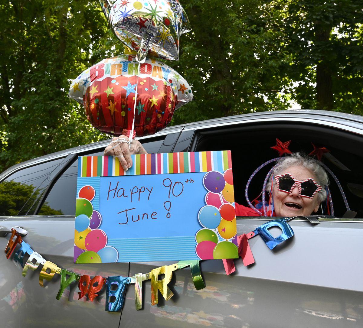North Harford community celebrates longtime teacher's 90th birthday | PHOTOS
