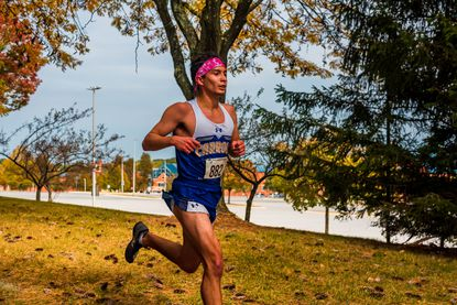 Carroll Community College's Jacob Havins, fresh off a race win, completed the Lynx Invite's 8K course in 31:27, finishing in the fourth spot Oct. 10 in Westminster.