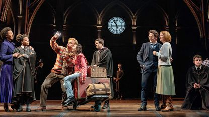 "A scene from ""Harry Potter and the Cursed Child"" on Broadway."