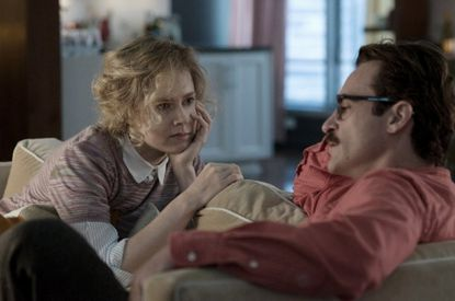 "Spike Jonze's ""Her,"" with Amy Adams and Joaquin Phoenix, was named best film of 2013 by the National Board of Review of Motion Pictures."