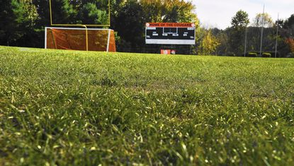 After another delay, Harford County is now planning to start construction on the new Fallston High School all-weather turf field in May 2017 and expects to finish in time for fall sports season.