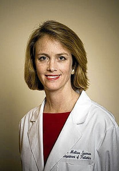 Dr. Melissa Sparrow, clinical director for pediatric inpatient and emergency services at Greater Baltimore Medical Center.