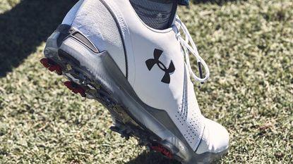 Under Armour endorser Jordan Spieth unveils newest signature golf shoe