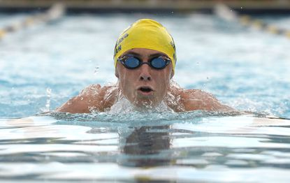 Brendan Moran of the Westminster Swim Team won the Boys 13-14 100 Meter Individual Medley with a time of 1:04:71 during the 2021 Carroll County Invitational Swim Meet at South Carroll Swim Club in Winfield Wednesday, July 14, 2021.