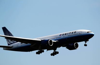 A United Airlines plane comes in for a landing at O'Hare International Airport in Chicago, Ill. The airline confirmed that Baltimore family's flight was diverted to Chicago in February.