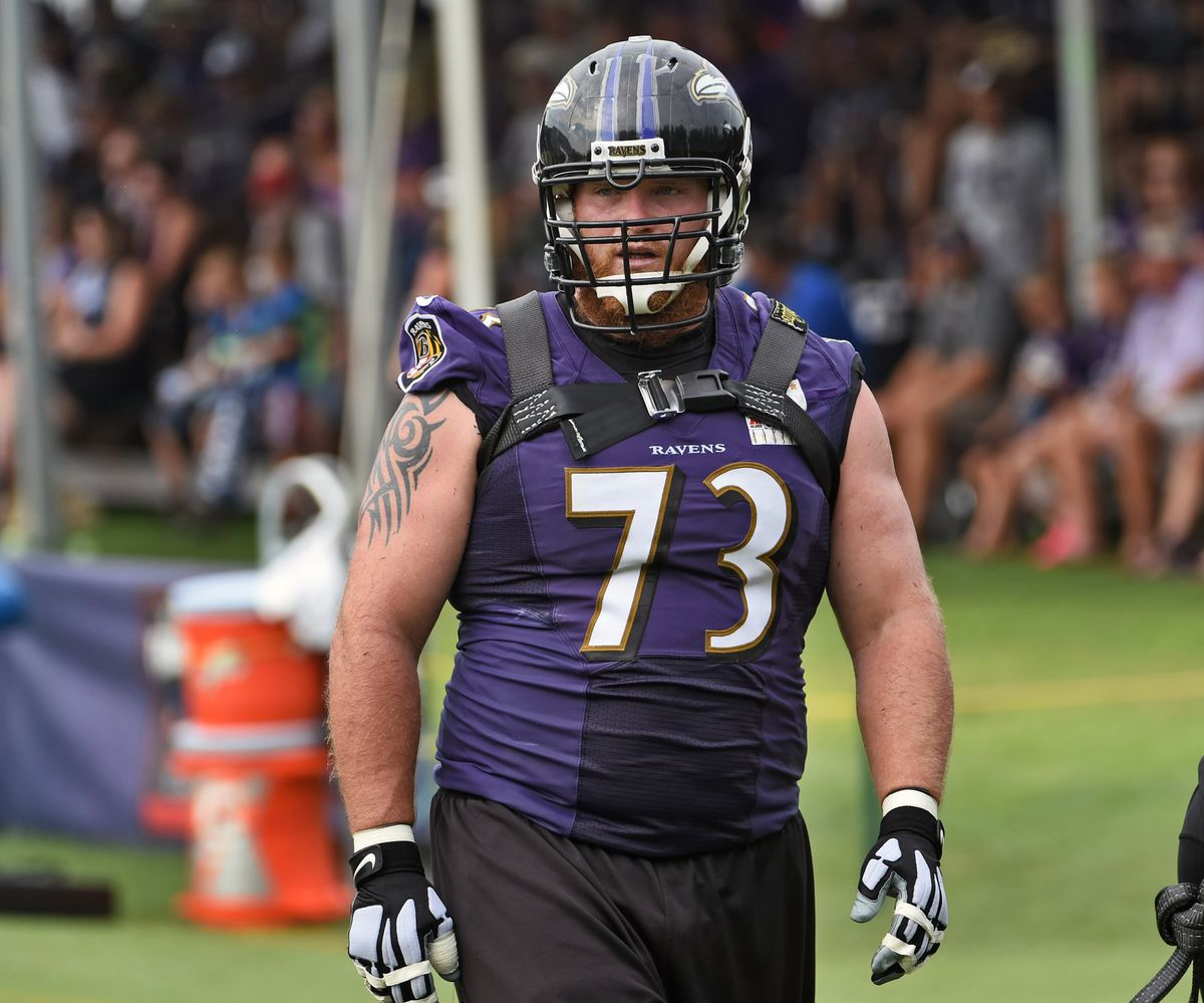 Ravens guard Marshal Yanda embracing role as offensive line's ...