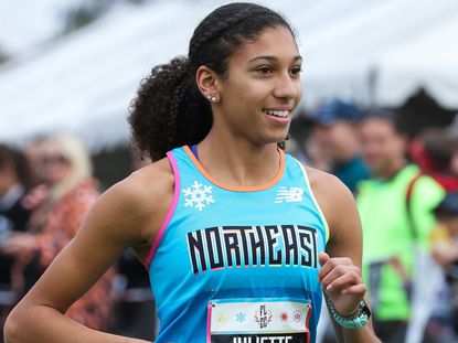 Juliette Whittaker of Mount de Sales finished 10th in Foot Locker national championships in San Diego, Calif., in December 2019.