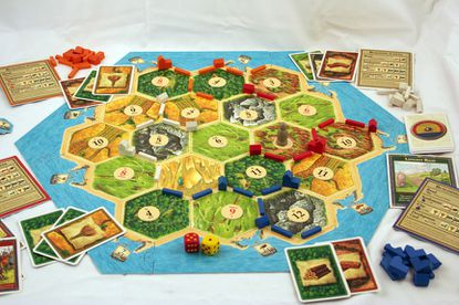 """The board game """"Settlers of Catan"""" could be an excellent way for video gamers to pass the time while they wait for power to be restored."""