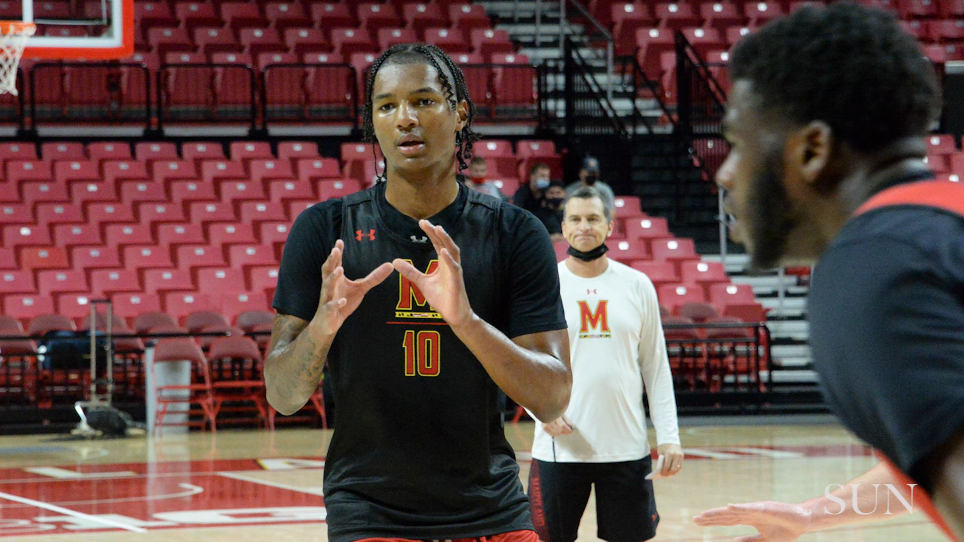 Terps' Julian Reese: 'I have adjusted pretty well' | VIDEO