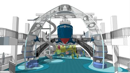 Port Discovery Children's Museum has launched a $10.5 million campaign to expand exhibit and programming offerings. Displayed here is a rendering of their planned port exhibit.