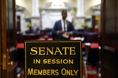Sen. Bill Ferguson, who has been nominated to be the next president of the Maryland Senate, announced several Democratic leadership changes on Thursday.