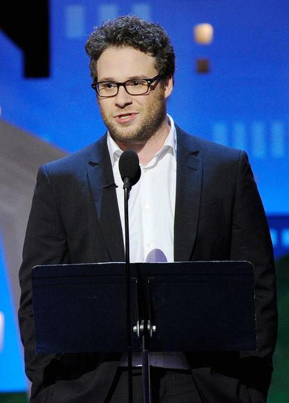 Spirits 2012: Seth Rogen gets things started