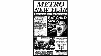 Metro New Year's Eve Karaoke Blowout