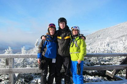 Skiing coach Diane Mikulis, left, will lead skier Jake Reynolds and snowshoe racer Jill Durbin (neither of whom are pictured) to South Korea this month for the Special Olympics World Winter Games.