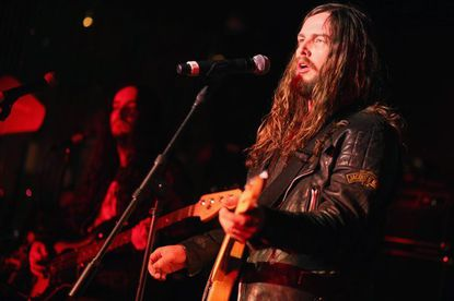 J. Roddy Walston and the Business perform in Hollywood, Calif., last week.