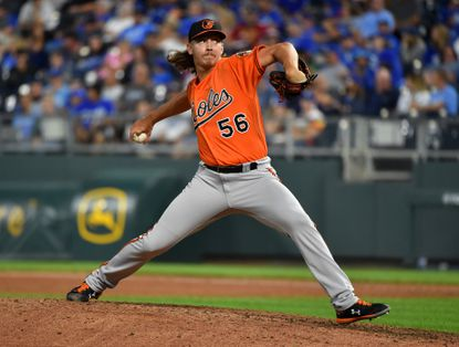 Relief pitcher Hunter Harvey has become a critical part of the Orioles bullpen.