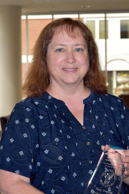 Tracy Yingling, R.N., coordinator of Carroll Hospital's Forensic Nurse Examiner (F.N.E.) program. - Original Credit: Courtesy Photo