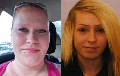Maryland State Police are searching for Heather Grogg, left, and Danielle Tyler. Anyone with information of their whereabouts should contact the Westminster barrack at 410-386-3000.