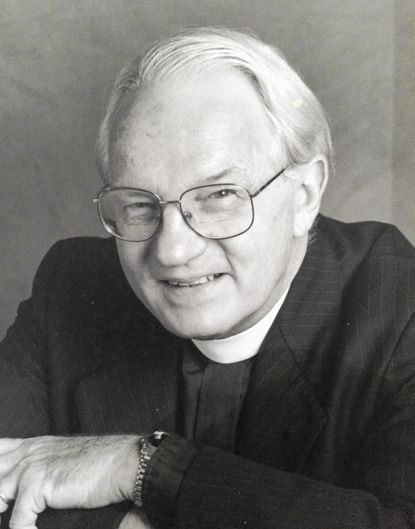 The Rev. Edward S. Warfield Jr. was longtime associate rector of St. Bartholomew Episcopal Church in Ten Hills and an advocate for civil rights, peace and justice.