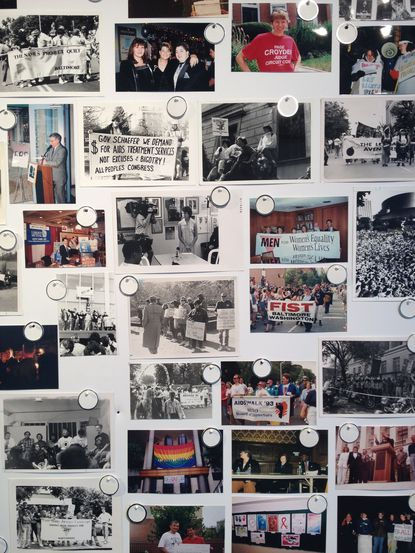A new exhibit at the Creative Alliance features photographs from the archives of the GLCCB, and asks visitors to help identify the people and places captured in time.