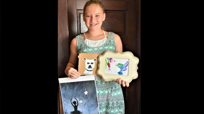 An Eye for Art: Art prodigy takes on causes, plans career in interior design
