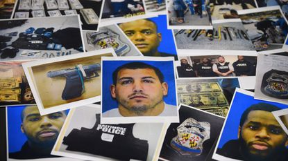 The Office of Baltimore State's Attorney Marilyn Mosby has said it wants to throw out 800 cases that were compromised by officers from the now-defunct Gun Trace Task Force, now imprisoned for racketeering and other offenses related to planting criminals and falsifying documents to justify arrest. Prosecutors said Sgt. Wayne Jenkins was the ring leader of the rogue squad.