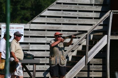 Eleven times, between 1981 and 2002, Jim Bealmear made the All-State first team, composed of the top five skeet shooters in Maryland.